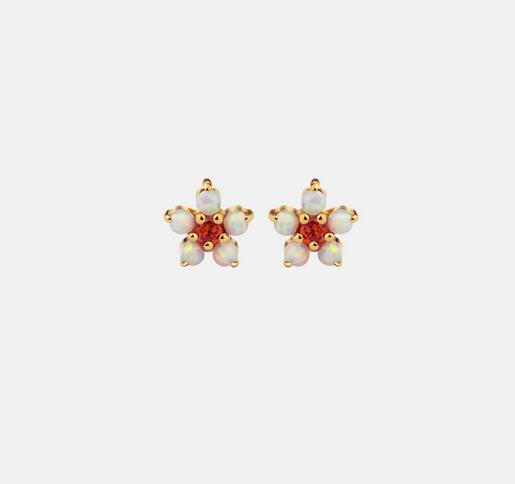 Maanesten Iris white opal