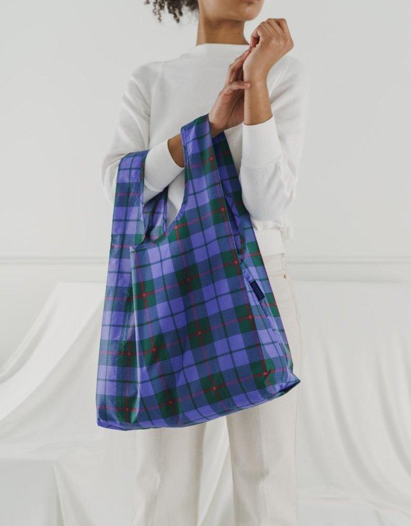 Baggu Reusable Bag Tartan blue
