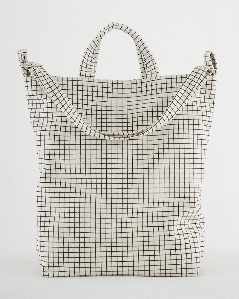 Baggu Duck Bag Natural Grid