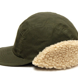 Cableami Paraffine weather cap olive