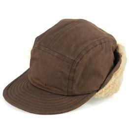 Cableami Paraffine Weather Cap Brown