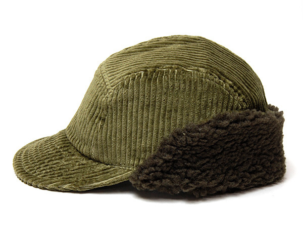 Cableami Corduroy cap Olive