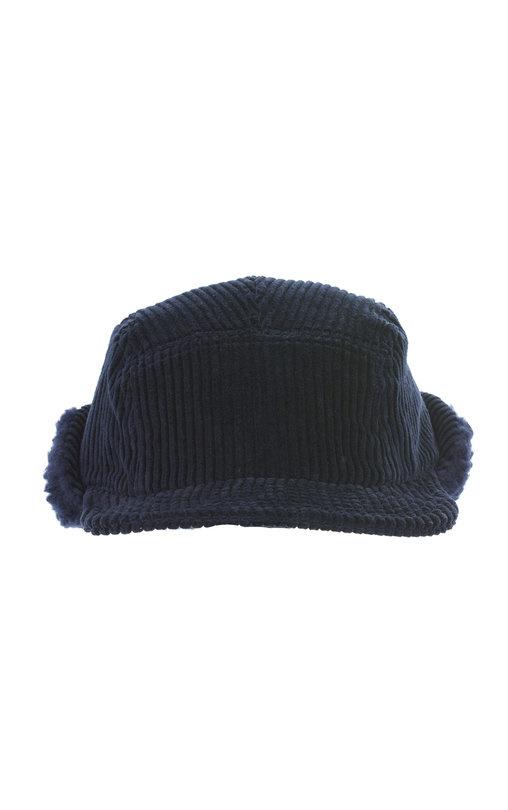 Cableami Corduroy Cap Navy