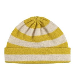 Jo Gordon Hat Stripe Tumeric / Oatmeal