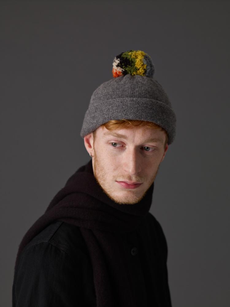 Jo Gordon Hat Shaggy Pompom