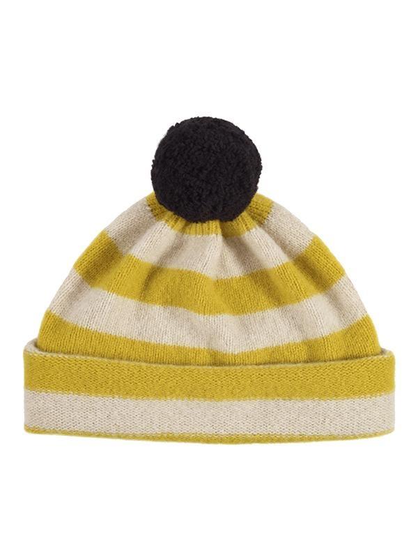 Jo Gordon Hat Pompom Stripe
