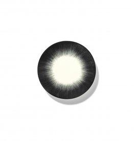 Ann demeulemeester Ann Demeulemeester for serax Plate D14 White-black 4
