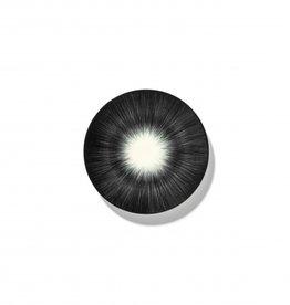 Ann demeulemeester Ann Demeulemeester for serax Plate D14 White-black 5