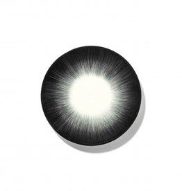 Ann demeulemeester Ann Demeulemeester for serax Plate D17,50 White-black 5