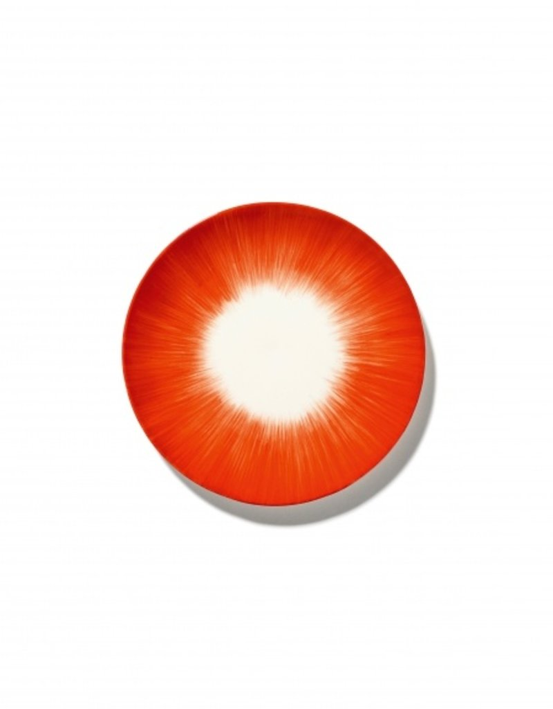 Ann demeulemeester Ann Demeulemeester for serax Plate D17,50 White-Red 5