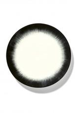 Ann demeulemeester Ann Demeulemeester for serax plate D24 white-black 4
