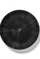 Ann demeulemeester Ann Demeulemeester for Serax plate D28 White-black 6