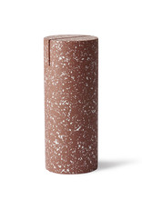 HK Living Terrazzo cylinder photo stand red