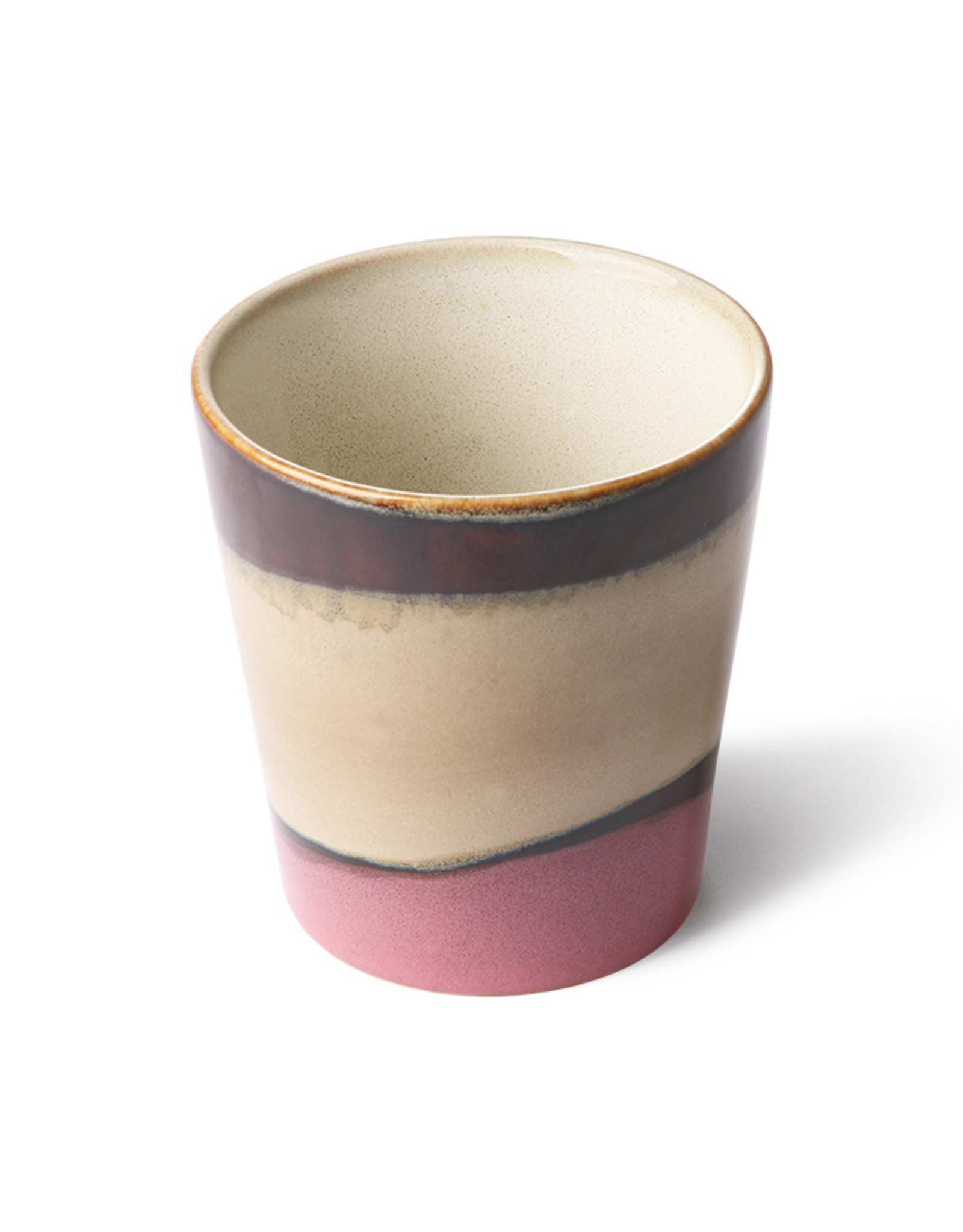 HK Living Ceramic 70's mug dunes