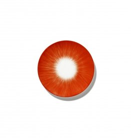 Ann demeulemeester Ann Demeulemeester for serax Plate D14 White-Red 5