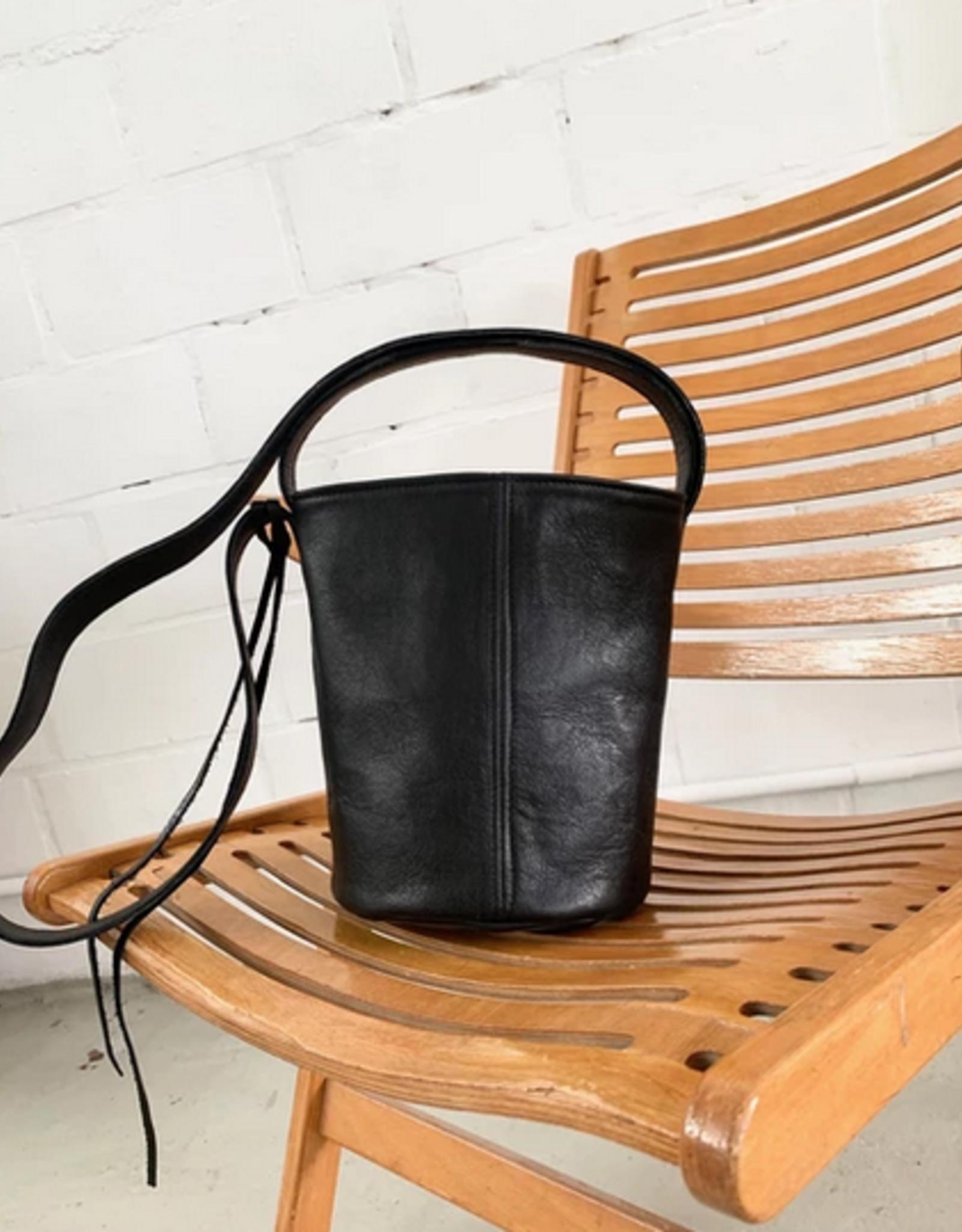 Nona NONA Bucket Bag Black