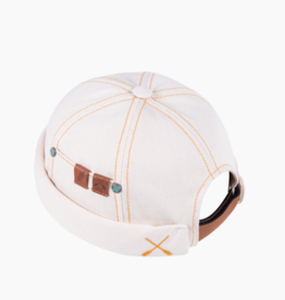 béton x ciré Workwear Denim Cream cap