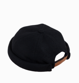 béton x ciré Wool Black Hat