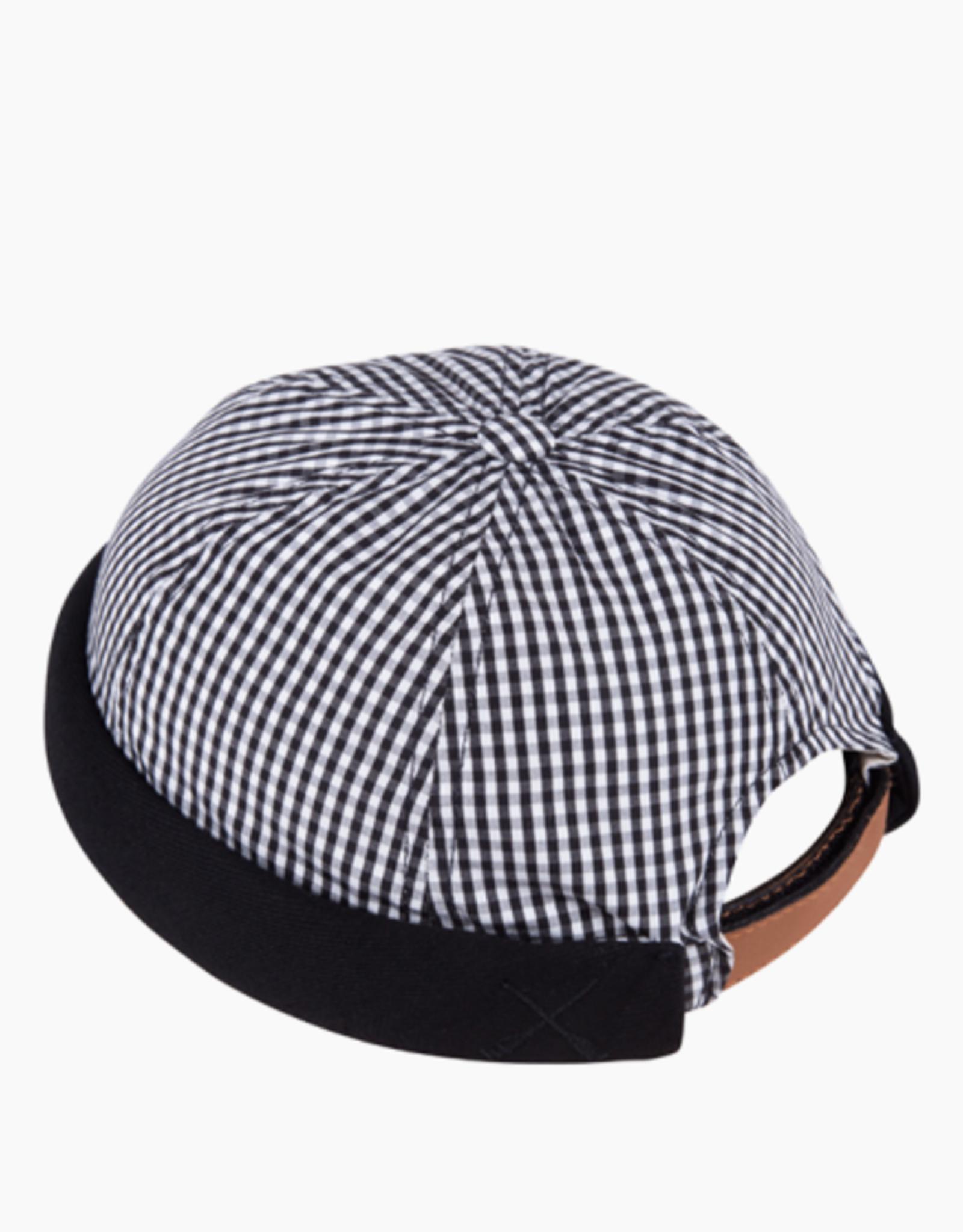 béton x ciré Vichy Black Denim black hat