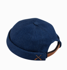 béton x ciré Recycling Denim hat