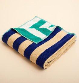 Dusen dusen Dusen dusen Bath towel Cool stripe