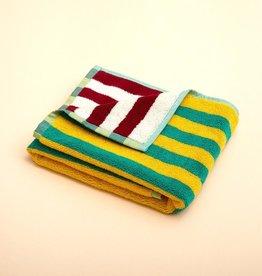 Dusen dusen Dusen dusen hand towel yellow stripe