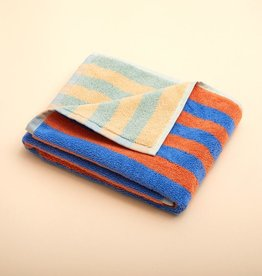 Dusen dusen Dusen dusen hand towel peach stripe