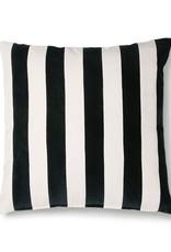 HK Living Cushion Velvet Black / White