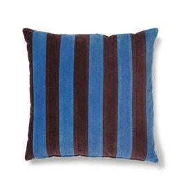 HK Living Cushion Velvet Blue / Purple