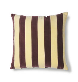 HK Living Cushion Velvet Yellow / Purple