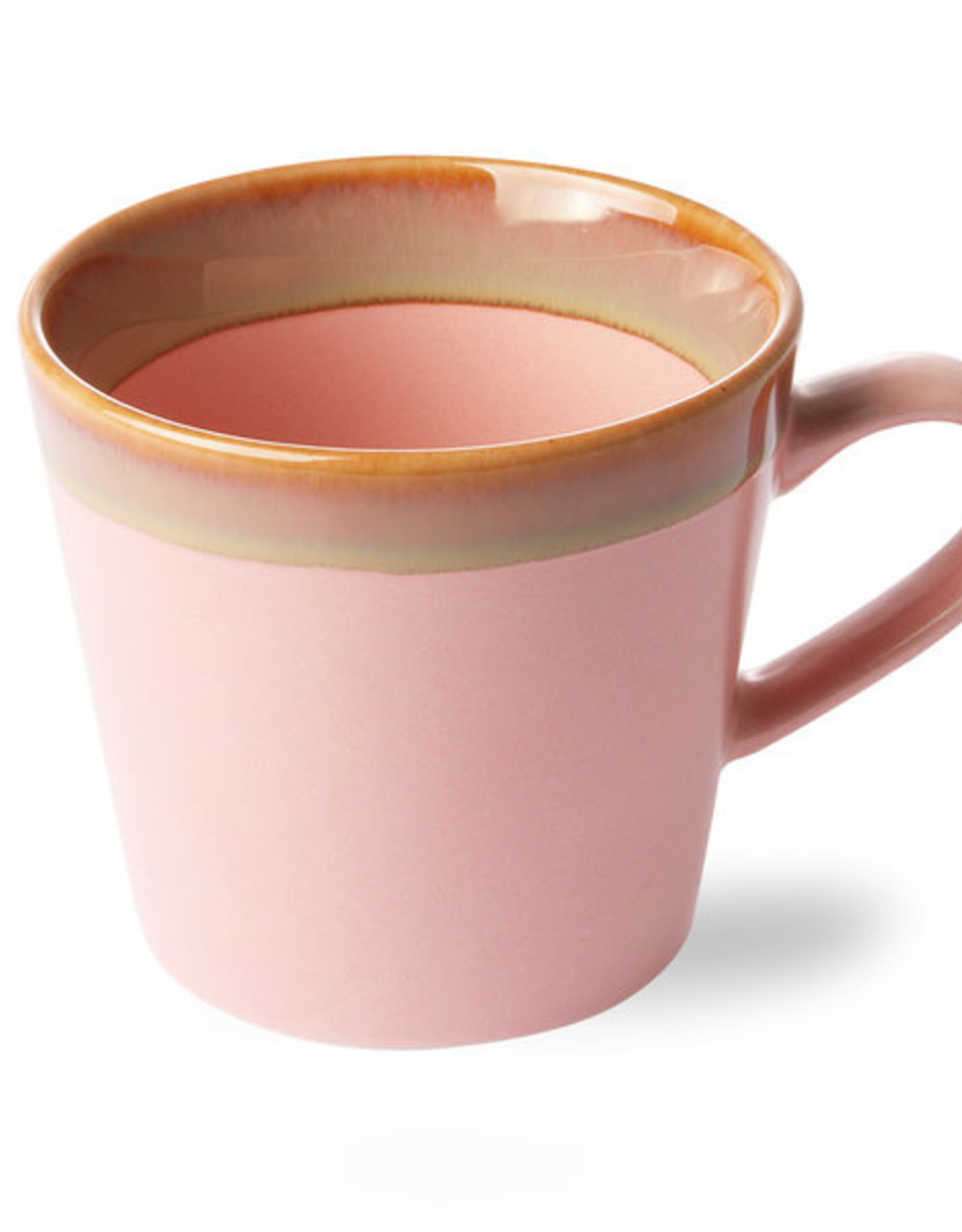 HK Living 70's cappucino mug Pink