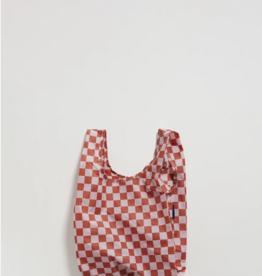 Baggu Reusable bag Baby check rose