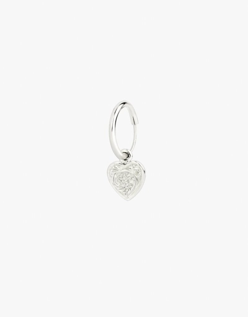 Wildthings Collectables Wild Heart Earring Silver