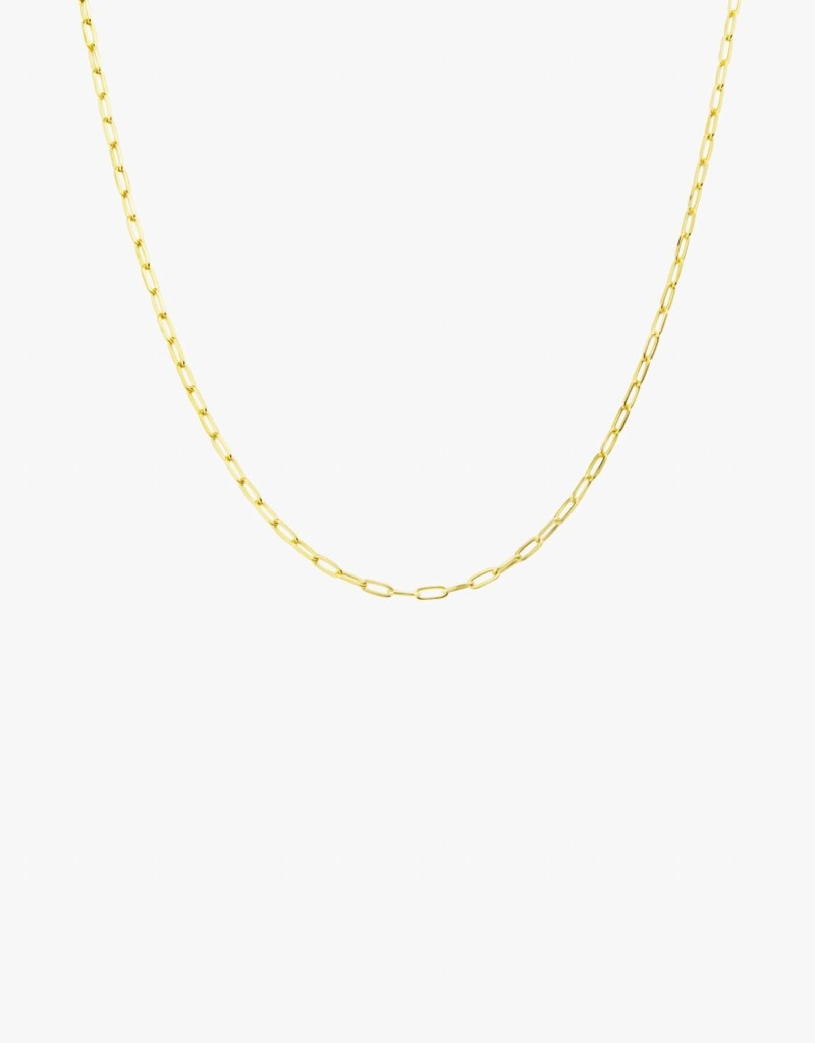 Wildthings Collectables Medium Round gold necklace