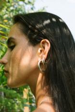 Wildthings Collectables Big hoop earring silver