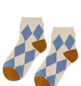hansel from basel Socks check light blue