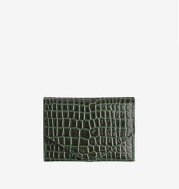 Hvisk Wallet croco green