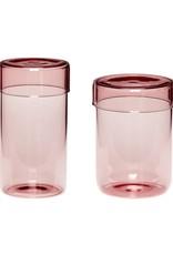 Hübsch Jar Pink (set of 2)