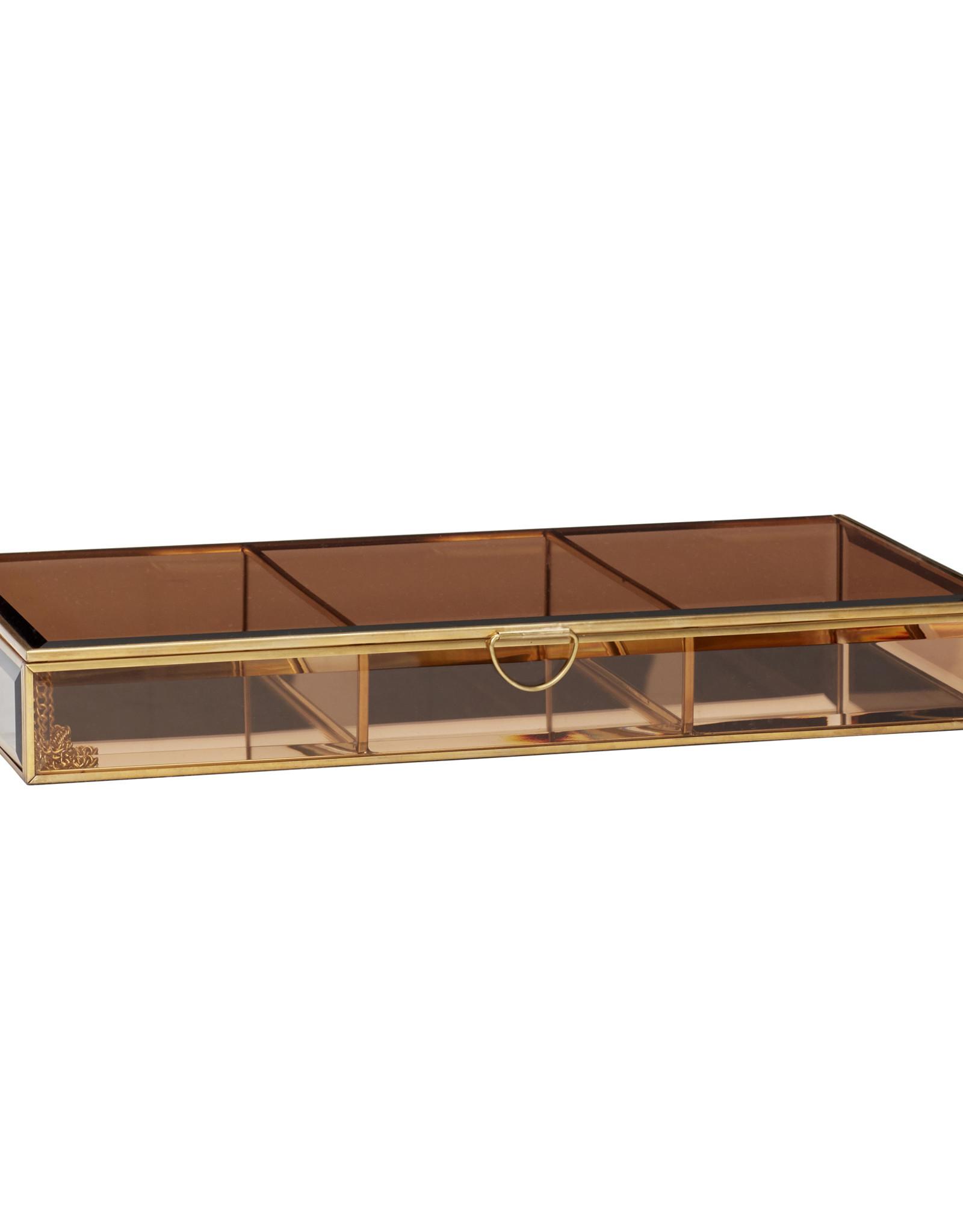 Hübsch Jewelry Box Brown Large
