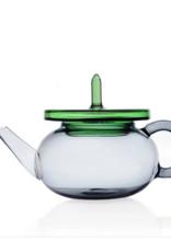 Ichendorf Merlino Teapot Smoke/Green