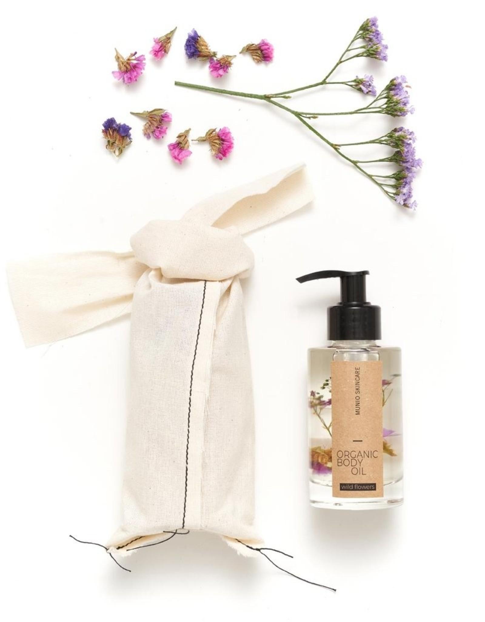 The Munio Wild flowers organic body oil