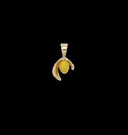 Anna + Nina Anna + Nina Lemon Necklace Charm