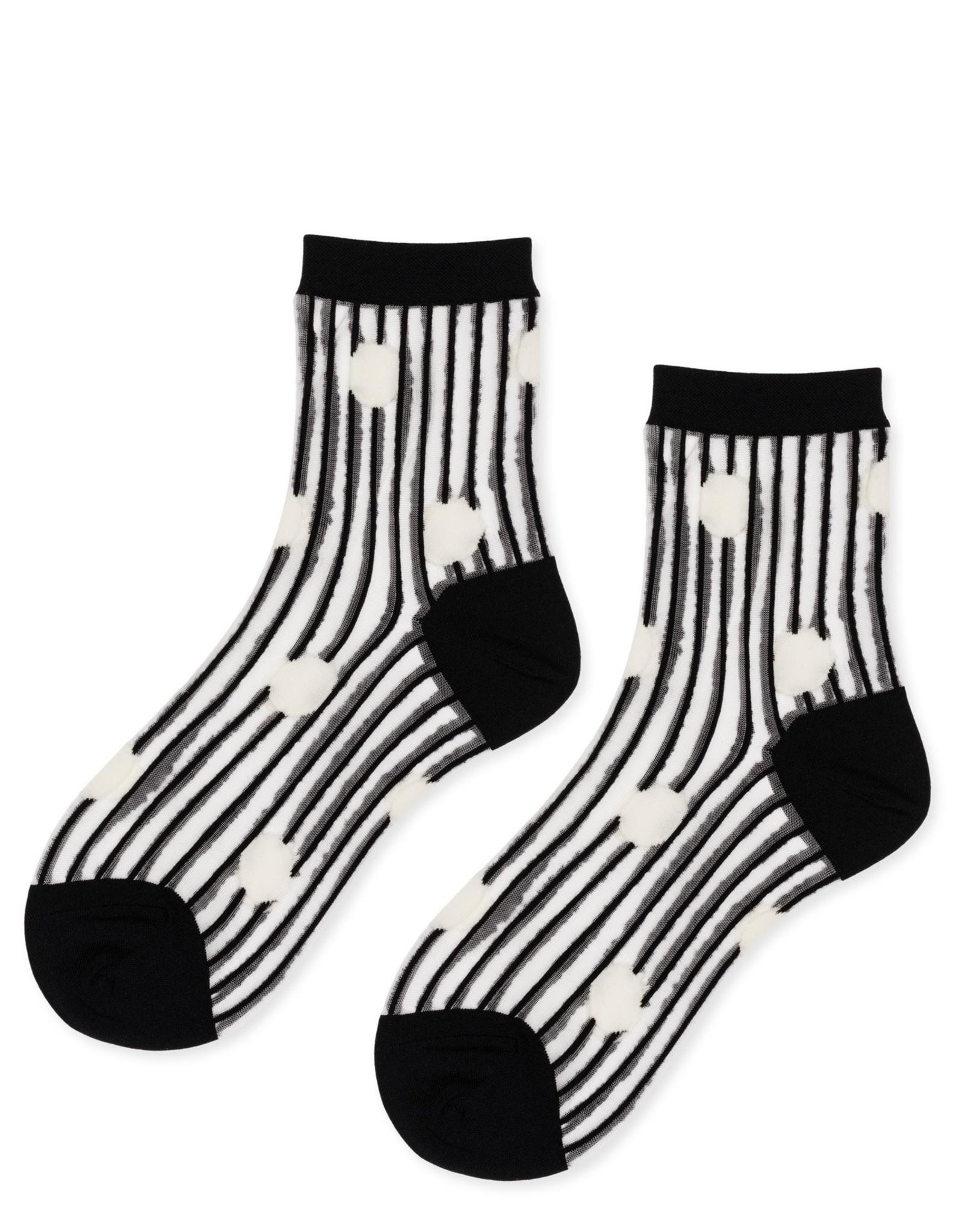 hansel from basel Socks line dot