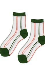 hansel from basel socks white green orange