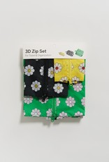 Baggu 3D zip set daisy
