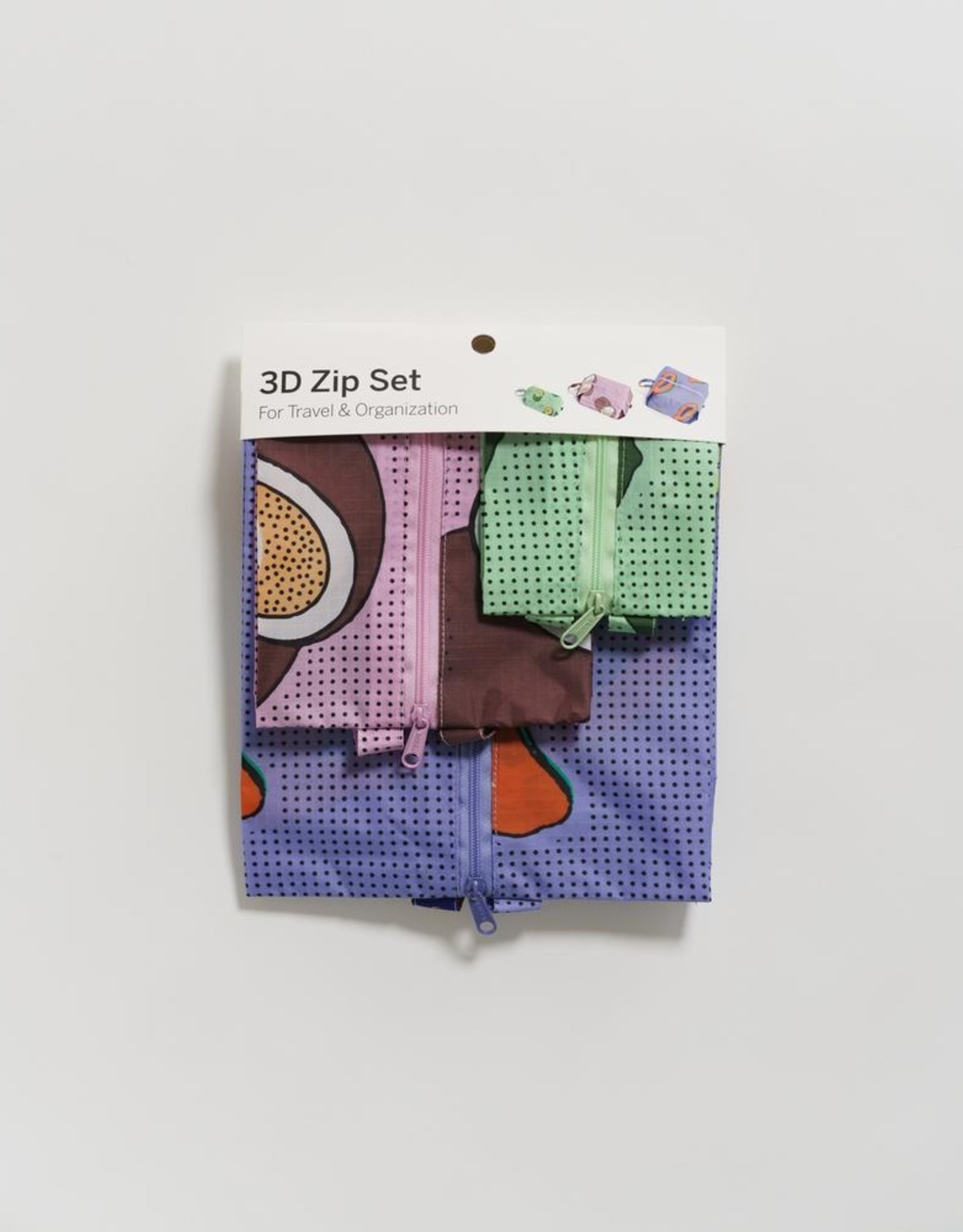 Baggu 3d zip set fruit