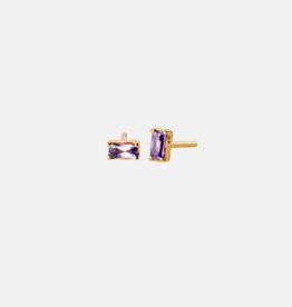 Maanesten Vanora Purple earring