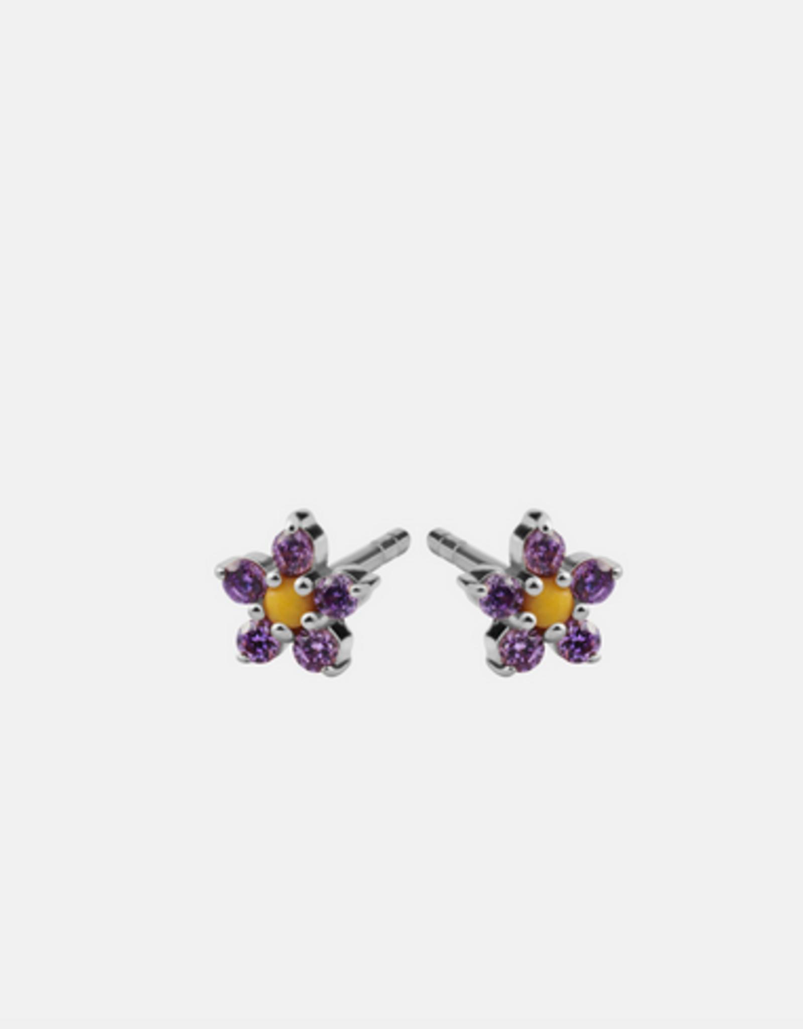Maanesten Iris purple Earring
