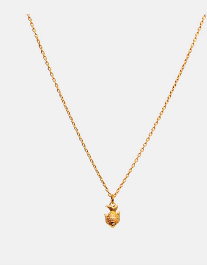 Maanesten Koi Necklace Gold