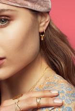 Maanesten Tassel earring gold